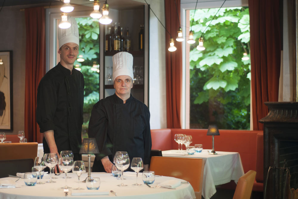 chef villa 9 Trois restaurant