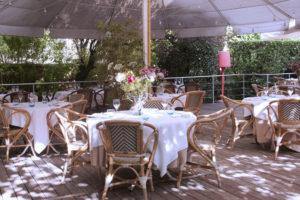 terrasse villa 9 trois restaurant