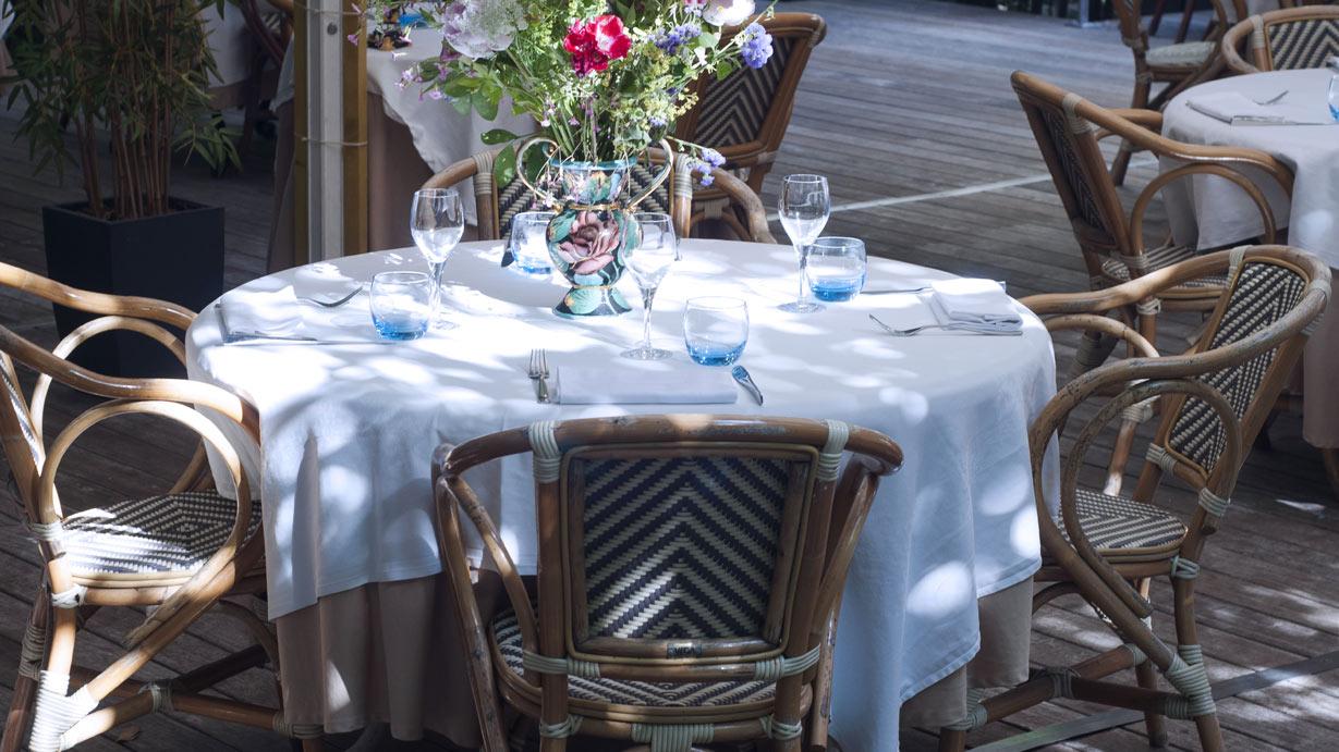 Villa9trois restaurant terrasse Montreuil Villa 93