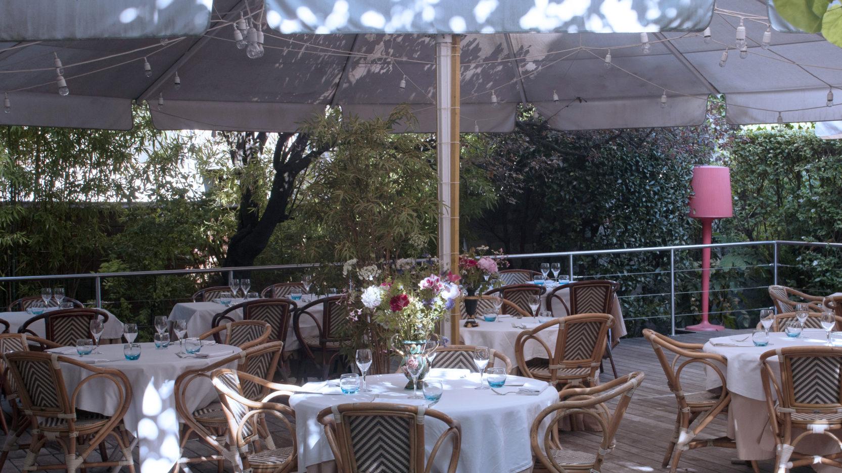 Villa9Trois Restaurant Montreuil Jardin Terrasse